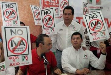 Calderón subirá impuestos después del 5 de julio: Estefan