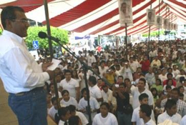 Vamos a cambiar la historia de este país: Jiménez Merino