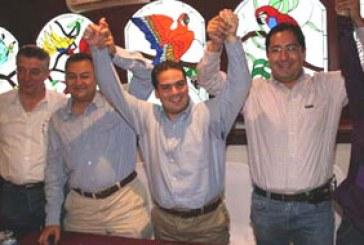 Anatere, Aguilar y Rafael dan su respaldo a Mondragón
