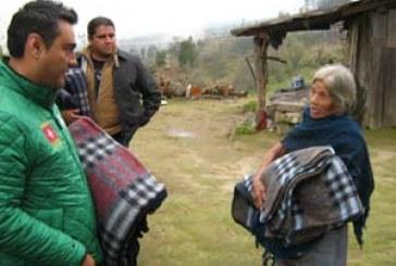 Otorga DIF apoyos a poblaciones afectadas por el frío