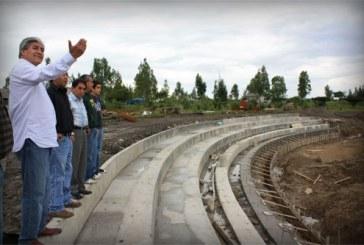 Construye SEDUOP Parque Bicentenario ?18 de Noviembre?