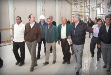 Integrantes del CDICS supervisan el Centro Expositor