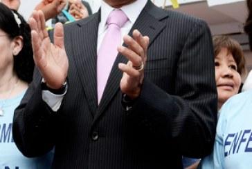 Asiste Alfonso Esparza a toma de posesión de Michelle Bachelet