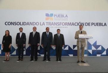 Empieza reingeniería del gabinete; Rodríguez Almeida a la SSP