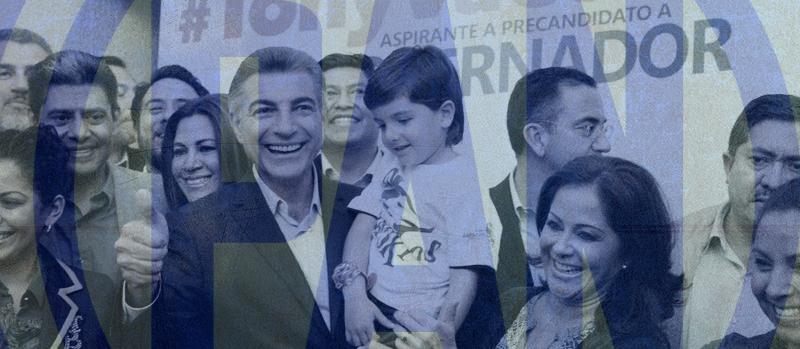 Antonio Gali Fayad se registra como pre candidato