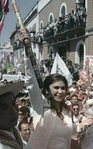 Alcalá se registra, acto público