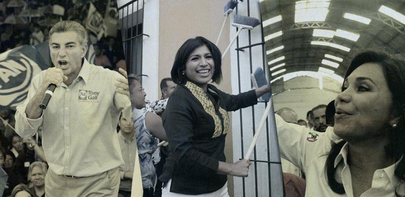 Roxana Luna, inicia campaña