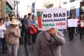 En marcha contra gasolinazo, llaman a boicot contra incrementos
