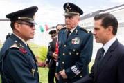 Peña Nieto reprocha críticas contra el Ejército