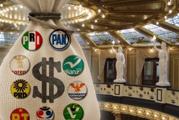 Sí se bajarán recursos a partidos políticos: Aguilar Chedraui