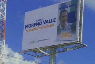 Acusan que Moreno Valle habría pagado publicidad de La Fuerza del Cambio
