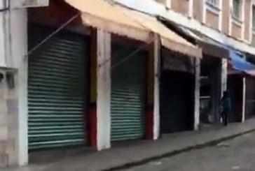 Reportan daños en iglesias y comercios del Centro Histórico