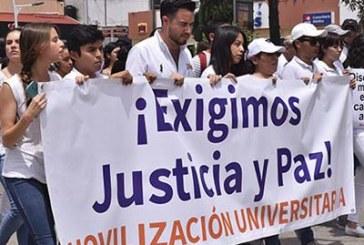 Universitarios piden justicia y alerta de género