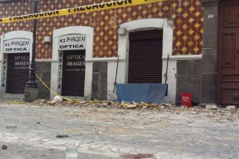 Temblor de 7.1 deja decenas de muertos en Puebla