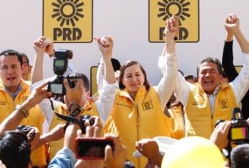 Registro de Martha Erika genera controversia en el PRD