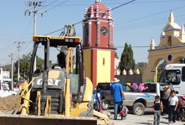 Piden intervención del INAH por obras en Tonantzintla