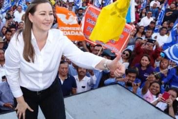 Martha Erika no hará campaña con candidatos a alcaldes
