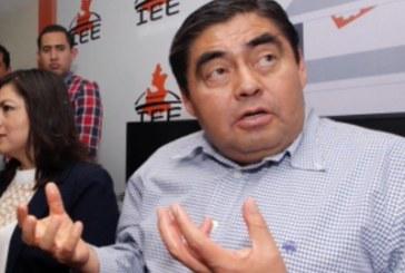 Barbosa reportó tarde gastos por 600 mil pesos en precampaña