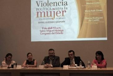 Urgen reforma integral para atender violencia política