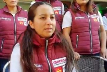 Candidata denuncia por violencia política a Doger