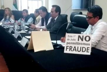 Morena augura fraude en sesión del IEE