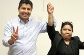 Se suma candidata de Nueva Alianza a Eduardo Rivera