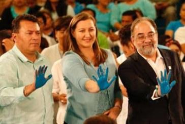 100 mil pesos costó evento donde PANAL declinó por Martha Erika