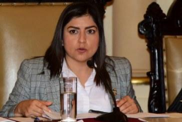 No le dan oportunidad a Rosales Martínez por ser mujer: Claudia Rivera