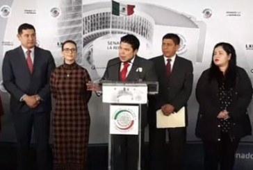 Respaldan senadores reapertura de cuentas de Moreno Valle