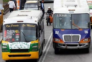 Comienza revocación de concesiones a transportistas