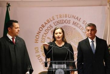 Rinde Martha Erika protesta como gobernadora de Puebla