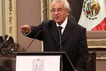 Puebla encarcelada por inseguridad, reconoce Pacheco Pulido