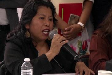 Diputada federal acusa elección de estado