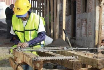 700 trabajadores de la construcción quedaron desempleados en abril