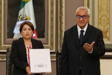 Entrega Pacheco informe por 6 meses de gobierno