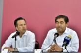 Acuerdan Puebla y Veracruz estrategias contra inseguridad