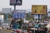 Suman 3 denuncias penales por permisos irregulares de espectaculares