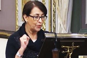 "Reprocha diputada aprobación ""al vapor"" del Congreso"