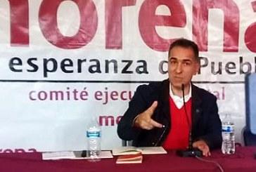 Confirma Consejo Nacional de Morena destitución de Bracamonte en Puebla