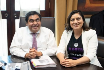 Rechaza Claudia Rivera delegada en Seguridad impuesta por MBH