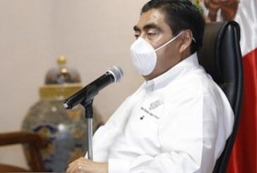 Plantea Barbosa pacto con poblanos para revertir contagios por COVID-19