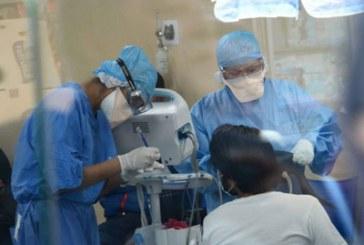 68% ocupación promedio en hospitales COVID