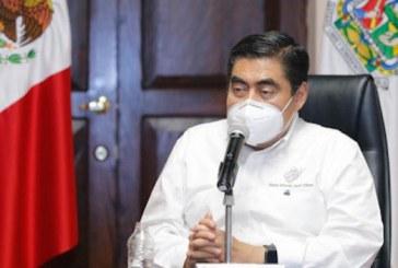 La atención a la salud de las y los poblanos en esta pandemia, está garantizada: Barbosa