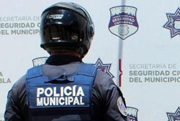 Pide Barbosa limpia total de la Policía Municipal