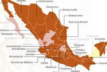 Puebla cambia a semáforo naranja tras reactivación económica