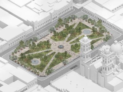Niega Gobierno del Estado entrega de permisos para remodelación del Zócalo
