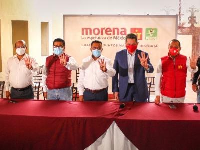 Morena y PT inician campañas electorales sin candidaturas completas