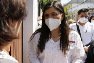 Va Morena 20 puntos arriba en Puebla, presume Claudia