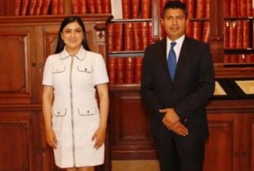 Presume Claudia Rivera bolsa para inicio del gobierno de Lalo