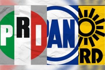 PAN analizará repetir alianza con PRI y PRD en 2024
